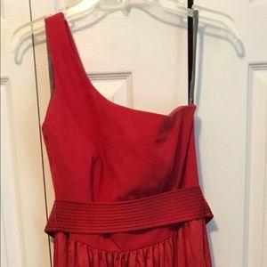 Vera Wang Bridesmaids Dress Red